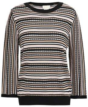 Kate Spade Striped Knitted Sweater