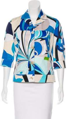 Emilio Pucci Printed Button-Up Jacket