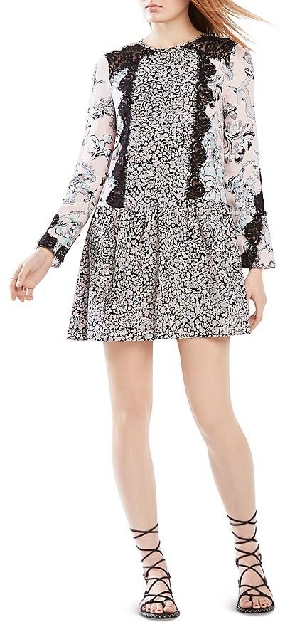 BCBGMAXAZRIABCBGMAXAZRIA Bryanne Lace Inset Dress