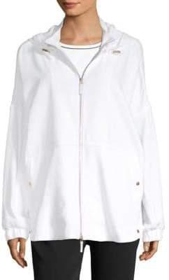 Piazza Sempione Front-Zip Hooded Jacket