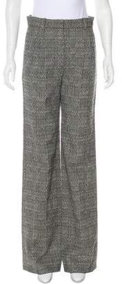 Chanel Tweed High-Rise Pants