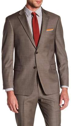 Tommy Hilfiger Adams Modern Fit TH Flex Performance Wool Blend Sharkskin Suit Separates Jacket