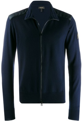 Belstaff Kelby shell-panelled cardigan