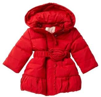 Kate Spade rosette puffer coat (Baby Girls)