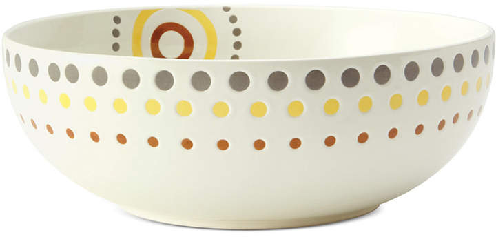 Rachael Ray Circles & Dots Serve Bowl