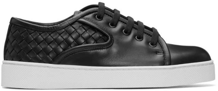 Bottega Veneta Black Intrecciato Sneakers