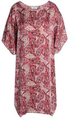 DAY Birger et Mikkelsen Printed Silk-satin Mini Dress