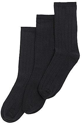 Class Club Navy Flat-Knit Socks 3-Pack