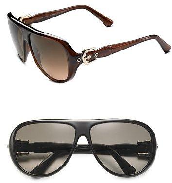 Fendi Retro Aviator Sunglasses