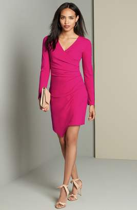 Adelyn Rae Ruched Jersey Sheath Dress