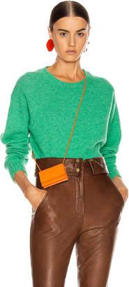 Acne Studios Samara Sweater in Bright Green | FWRD