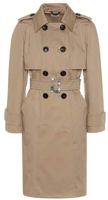 Miu Miu Embellished trench coat