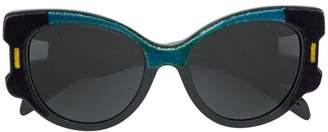 Prada velvet cat-eye sunglasses