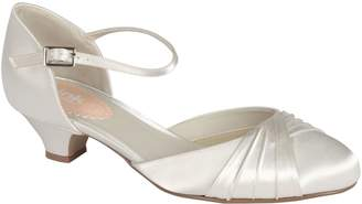 House of Fraser Paradox London Pink Protea Low Heel Pleated Round Toe Shoes