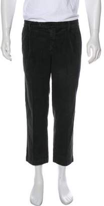 Massimo Alba Corduroy Flat Front Pants