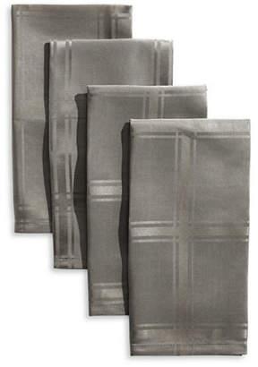Distinctly Home Bennet Four-Piece Plaid Spill-Proof Napkin Set