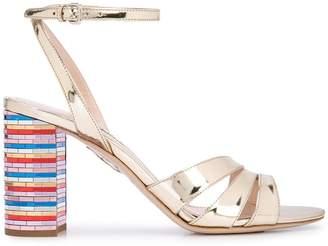 426a51c01 Miu Miu Side Buckle Women s Sandals - ShopStyle