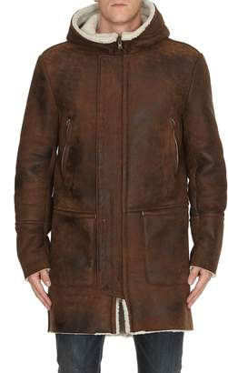 Salvatore Santoro Leather Parka