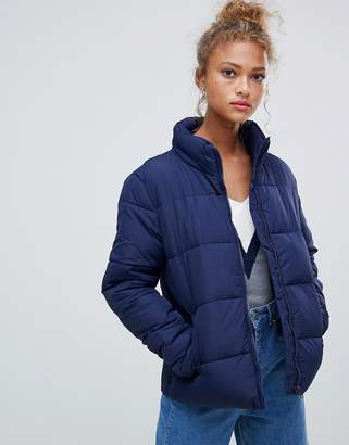 Blend She Dales tube quilted short jacket