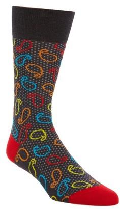 Men's Bugatchi Paisley Socks $19.95 thestylecure.com