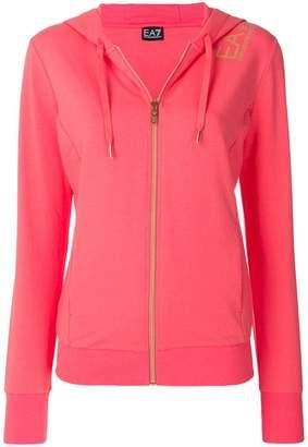 Emporio Armani Ea7 zipped hoodie