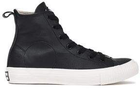 McQ Leather High-top Sneakers