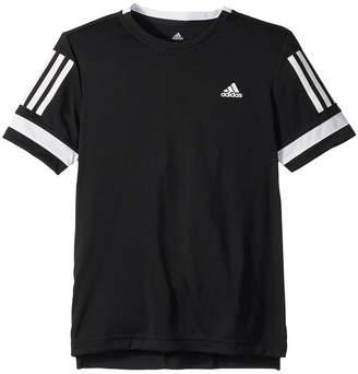 adidas Kids Club 3-Stripes Tee Boy's T Shirt