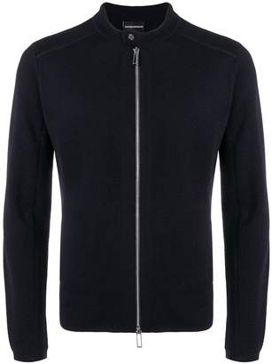 Emporio Armani zipped sweater