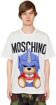 Transformer Bear Cotton Jersey T-Shirt $250 thestylecure.com