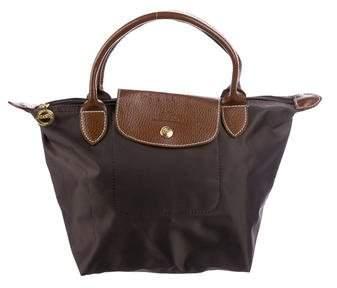 Longchamp Mini Le Pliage Bag - BROWN - STYLE