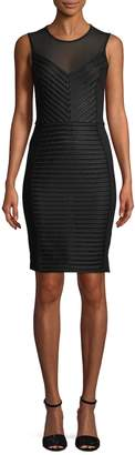 French Connection Women's Score Striped Sheath Dress