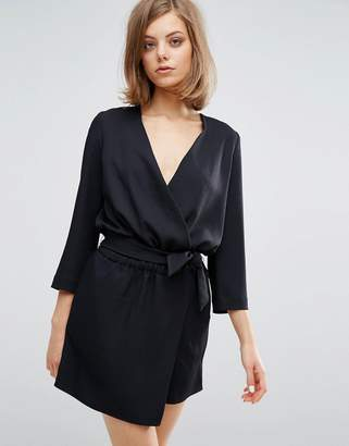 Vanessa Bruno Wrap Tie Up Dress