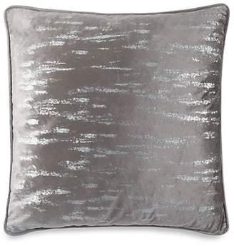 Callisto Home Metallic Velvet Euro Sham Pillow