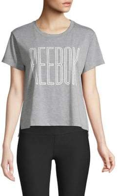 Reebok Outline Cropped Tee