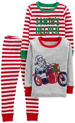 b3b3550749 Carter s Simple Joys by Boys  Toddler 3-Piece Snug-Fit Cotton Christmas  Pajama