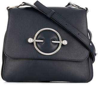 J.W.Anderson navy Disc bag
