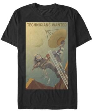 Nasa Men's Mars Technicians Wanted Short Sleeve T-Shirt