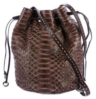 Michael Kors Python Small Julie Bucket Bag