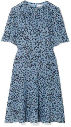 Altuzarra Jae Leopard-print Silk Crepe De Chine Dress