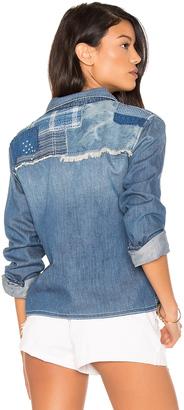 Joe's Jeans Josie Crop Button Up $148 thestylecure.com