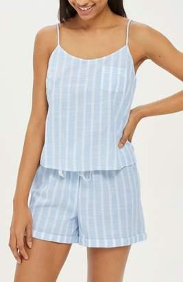 Topshop Stripe Camisole Pajama Top