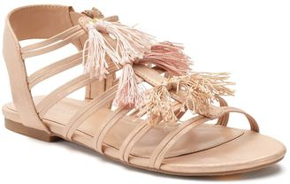 LC Lauren Conrad Women's Quarter Strap Sandals $49.99 thestylecure.com
