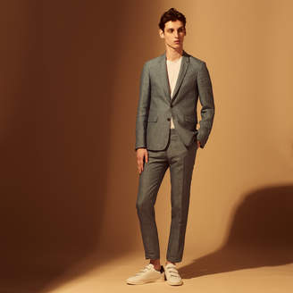 Sandro Slim-fit linen trousers