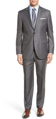 Men's Peter Millar Classic Fit Solid Wool Suit $695 thestylecure.com