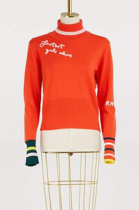 Mira Mikati Fastest Girls Alive turtleneck sweater