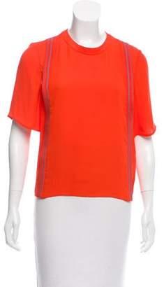 3.1 Phillip Lim Silk Short Sleeve Top w/ Tags