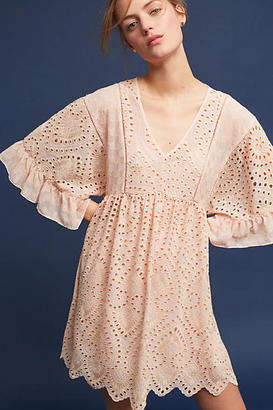 Akemi + Kin Brooke Eyelet Swing Dress $158 thestylecure.com