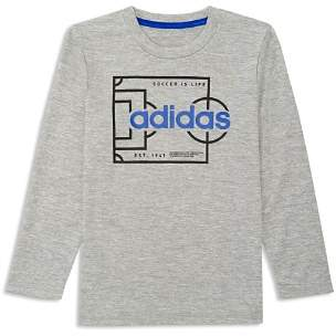 adidas Boys' Soccer is Life Graphic Tee - Big Kid