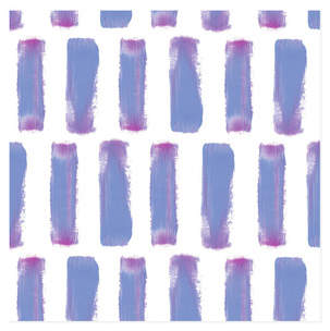 Purple Stripes Self-Launch Wrapping Paper