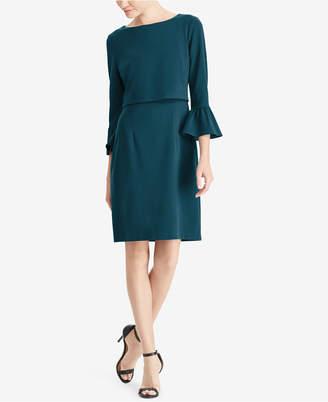 American Living Crepe Bell-Sleeve Dress